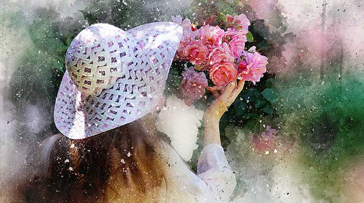 Health Body and Soul Appreciating Flowers
